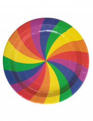 Set regenboog borden