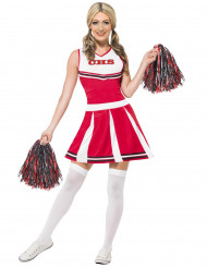 Cheerleader kostuum voor vrouwen