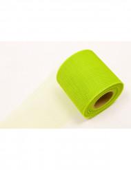 Fluo groene tule rol 20 meter