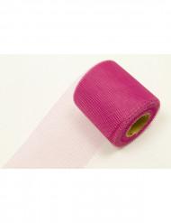 Fuchsia roze rol tule
