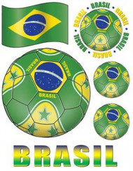 Ruitenstickers Brazilië