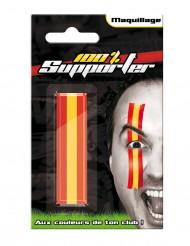 Spanje supporter schmink