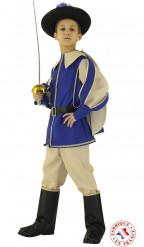 Blauwe prinsen outfit voor jongens