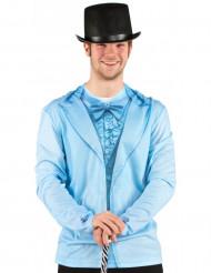 Blauw pak Fop-Shirt