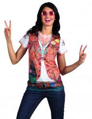 Fop-shirt hippie jas voor dames