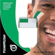 Groen en witte schmink