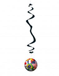 6 Wereld beker hangers