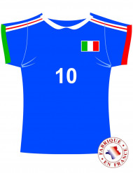 Italiaanse voetbalshirt muurdecoratie