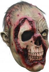 3/4 zombie masker voor volwassenen Halloween