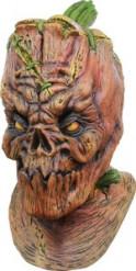 Integraal masker pompoen voor heren Halloween