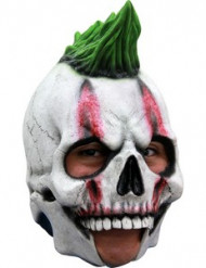 3/4 Masker punk skelet voor volwassenen
