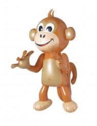 Grappige opblaasbare aap decoratie