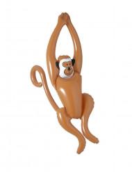 Bruine opblaasbare aap