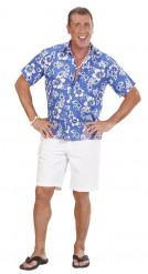 Blauwe Hawaiiaanse blouse voor mannen