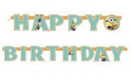 Verjaardag slinger van de Minions™