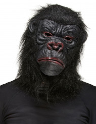 Zwart gorilla masker voor volwassenen