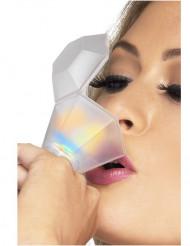 Kleine glasring met licht voor volwassenen