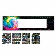 Aanpasbare discobal banner