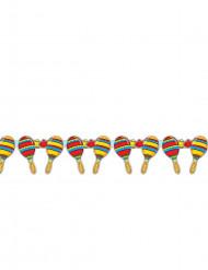 Mexicaanse sambaballen slinger 3 meter