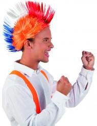 Nederlandse oranje punk pruik
