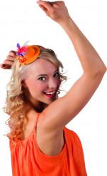 Minihoedje in Nederlandse kleuren