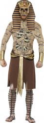 Zombie farao Halloween kostuum voor heren