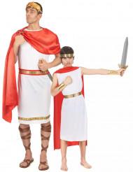 Romeinse koppel kostuums vader en zoon