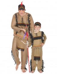 Apache koppelkostuum vader en zoon