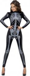Sexy skelettenkostuum voor vrouwen