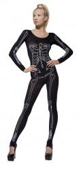 Sexy skeletten pak voor dames Halloween