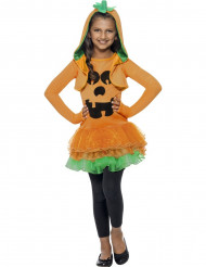 Verkleedkostuum voor meisjes pompoen met tutu Halloween kleding