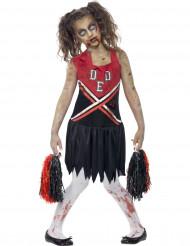 Verkleedkostuum zombie cheerleader voor meisjes Halloween pak