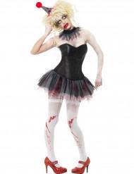 Clown zombie set voor vrouwen