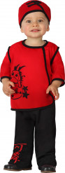 Chinese ninja kostuum voor baby