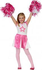 Roze Cheerleader outfit voor meisjes