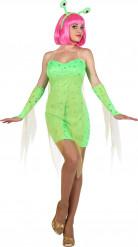 Alien kostuum voor dames
