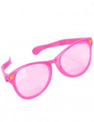 Maxi roze bril  voor volwassenen