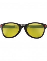 Reuze zwarte bril voor volwassen