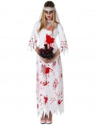 Bebloede bruid kostuum voor vrouwen
