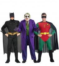 Groep kostuum Batman™ Robin™ en Joker™