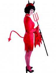 Rode duivel staart voor volwassenen Halloween