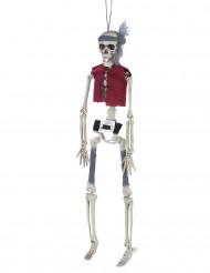 Halloween versiering skelet piraat om op te hangen