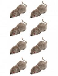 Set van 8 halloween muizen