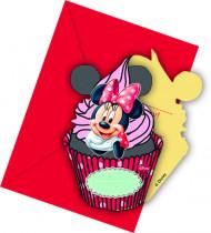 Minnie Coffee™ uitnodigingen en enveloppen