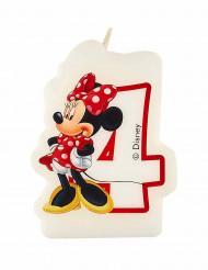 Minnie's café™ kaars 4 jaar