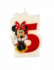 Kaarsje 5 jaar Minnie™
