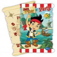 6 Jake en de piraten™ uitnodigingen
