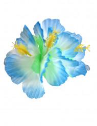 Blauwe Hawaiiaans haarspeld