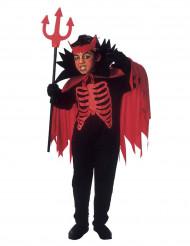 Verkleedkostuum duivel rood voor jongens Halloween pak