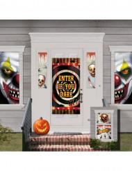 Set van Halloween huisversieringen
